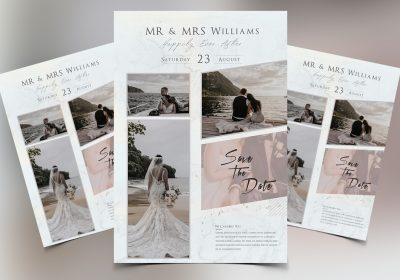 Wedding Photography Free PSD Flyer Template