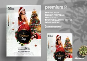 The Christmas Party - PSD Flyer Template
