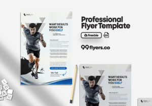 Gym Fitness Flyer – Free PSD Template
