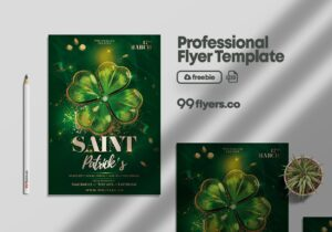 Saint Patrick's Day Flyer – Free PSD Template