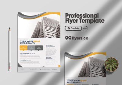 Success Marketing Free Business PSD Flyer Template