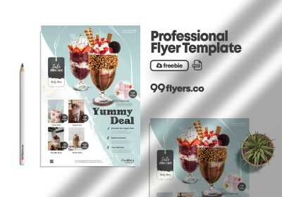 Product Sale & Promotion Free PSD Flyer Template