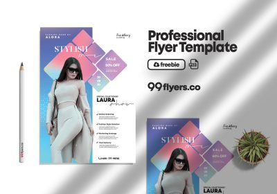 Fashion Summer Wear Flyer Free PSD Template