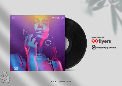 Chill Out Music Album Free PSD CD Cover