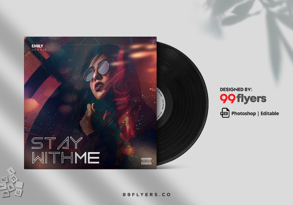 Freestyle Mixtape CD Cover Free PSD Template