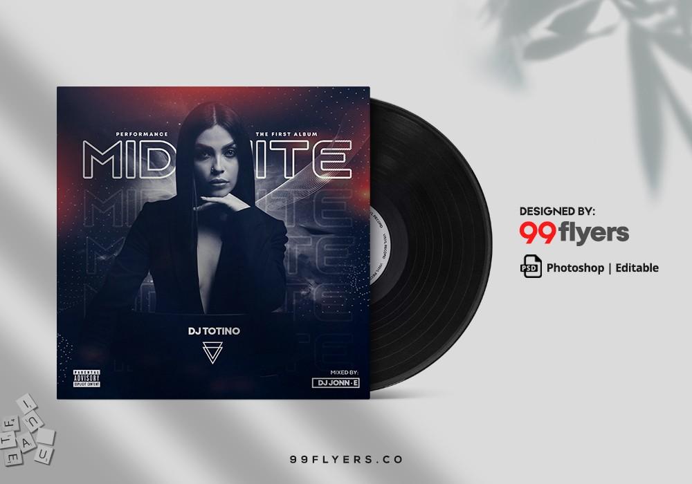 Hip Hop Mixtape Free PSD CD Cover