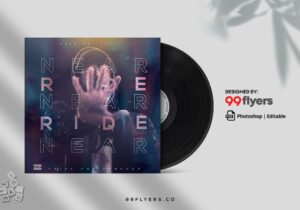 Mixtape CD Cover Free PSD Template