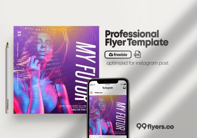 Special DJ Event Flyer Free PSD Template