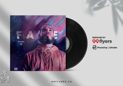 Urban Mix Free CD Mixtape Artwork (PSD)