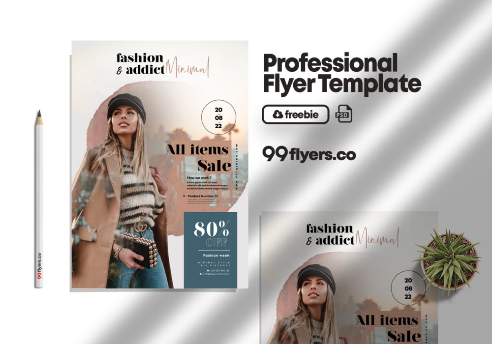 Fall Special Promotion Sale PSD Flyer