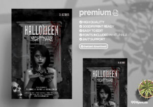 Night of Spirits Halloween PSD Flyer Template.jpg
