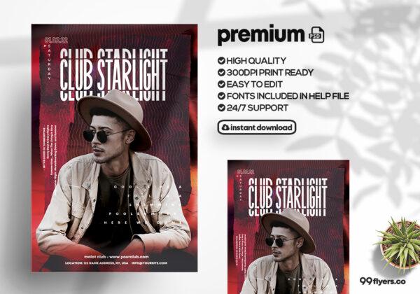 Concert Event Flyer Template (PSD)