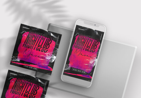 Nightclub Moves Instagram Banners (PSD)